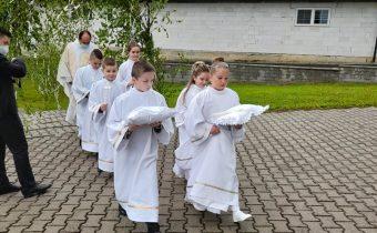 Prvé sväté prijímanie 2021