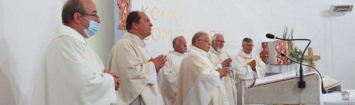 25. výročie konsekrácie rímskokatlíckeho kostola sv. Petra a Pavla vo Vyšnom Hrabovci – 04.08.2021